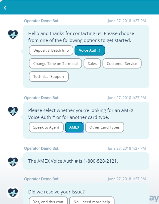 The Relay Chatbots providing instant support by automating FAQs.
