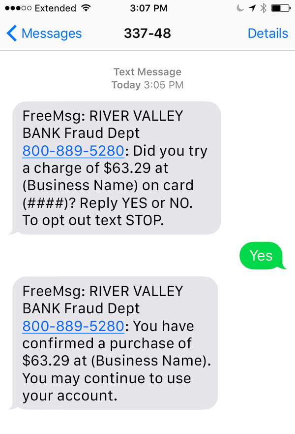 When dealing with serious matters such as fraud alerts a humorous chatbot personality is not appropriate.