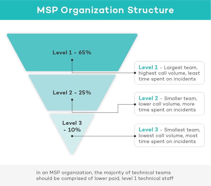 msp organization structure