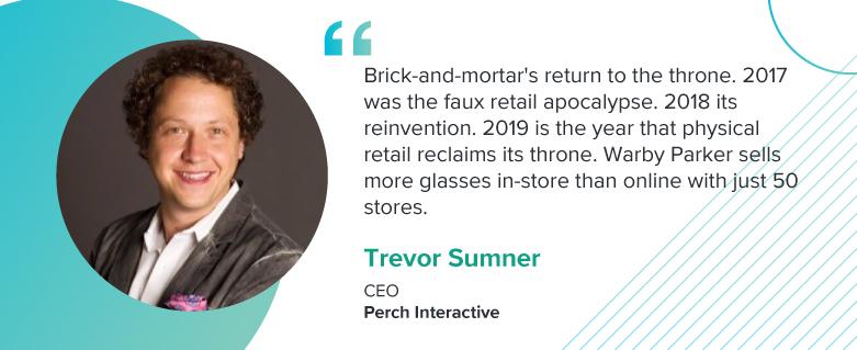 Trevor Sumner, CEO at Perch Interactive