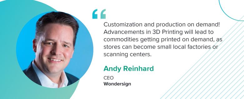 Andy Reinhard, CEO at Wondersign
