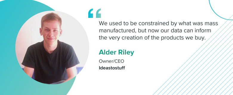 "For Alder Riley, the Owner/CEO of Ideastostuff, ""[customer] experience is king."""