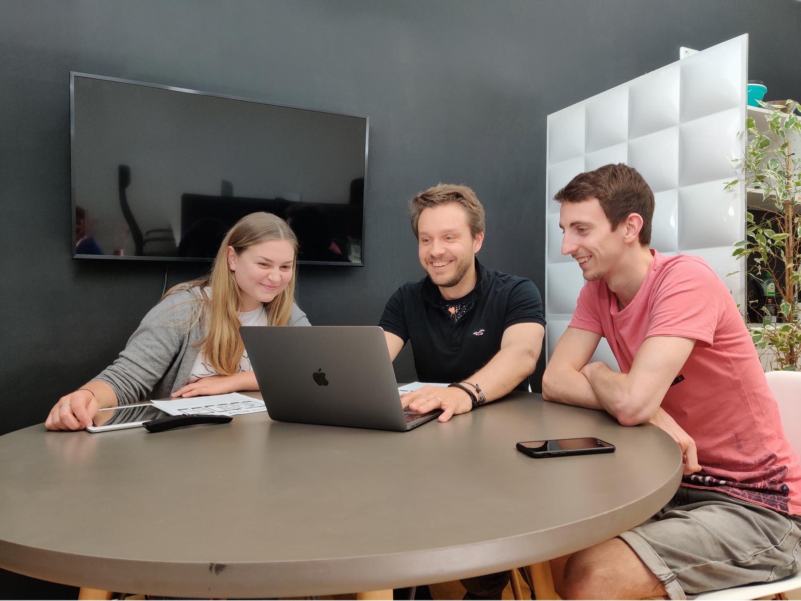 Meeting bei der Digitalagentur aus München