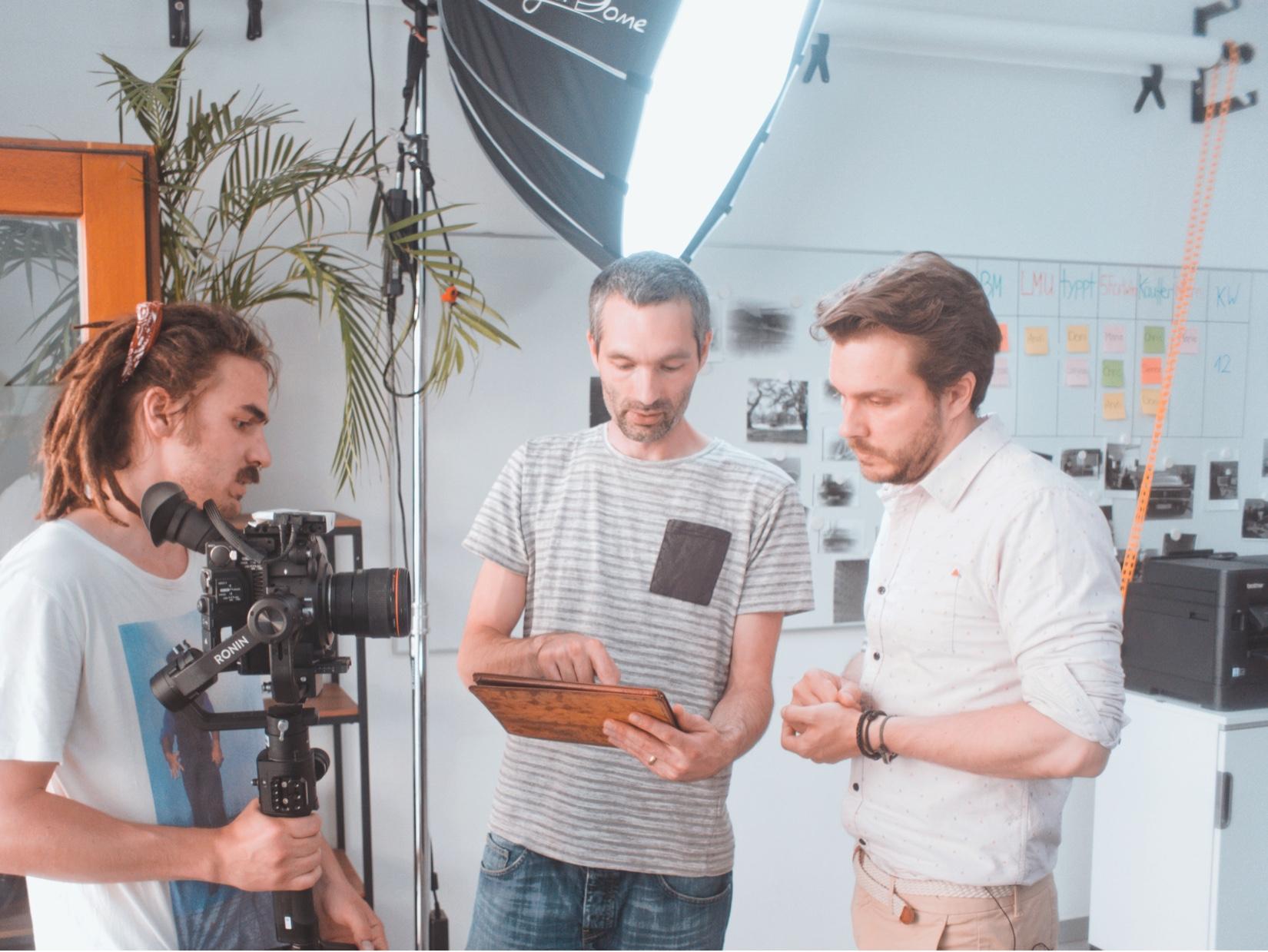 Digitalagentur München Videodreh