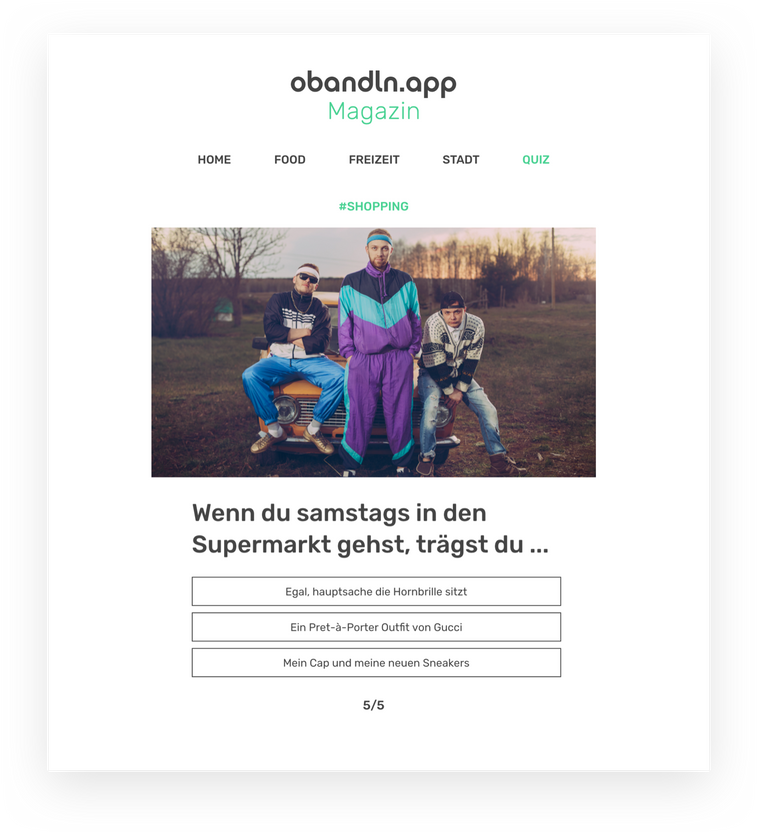 Obandln Blog - Stadtmagazin München