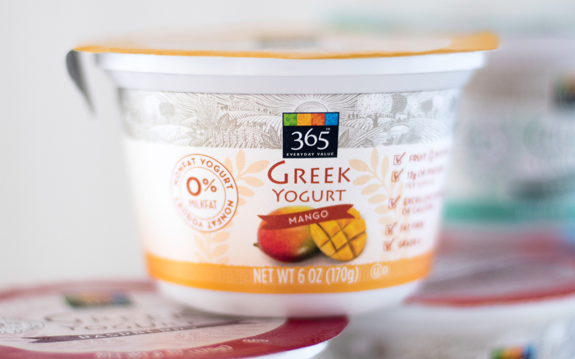 Whole Foods Market 365 Mango Yogurt