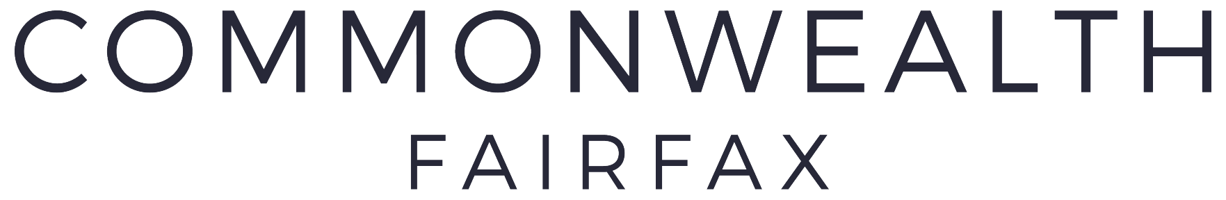 Commonwealth Fairfax Logo Wordmark
