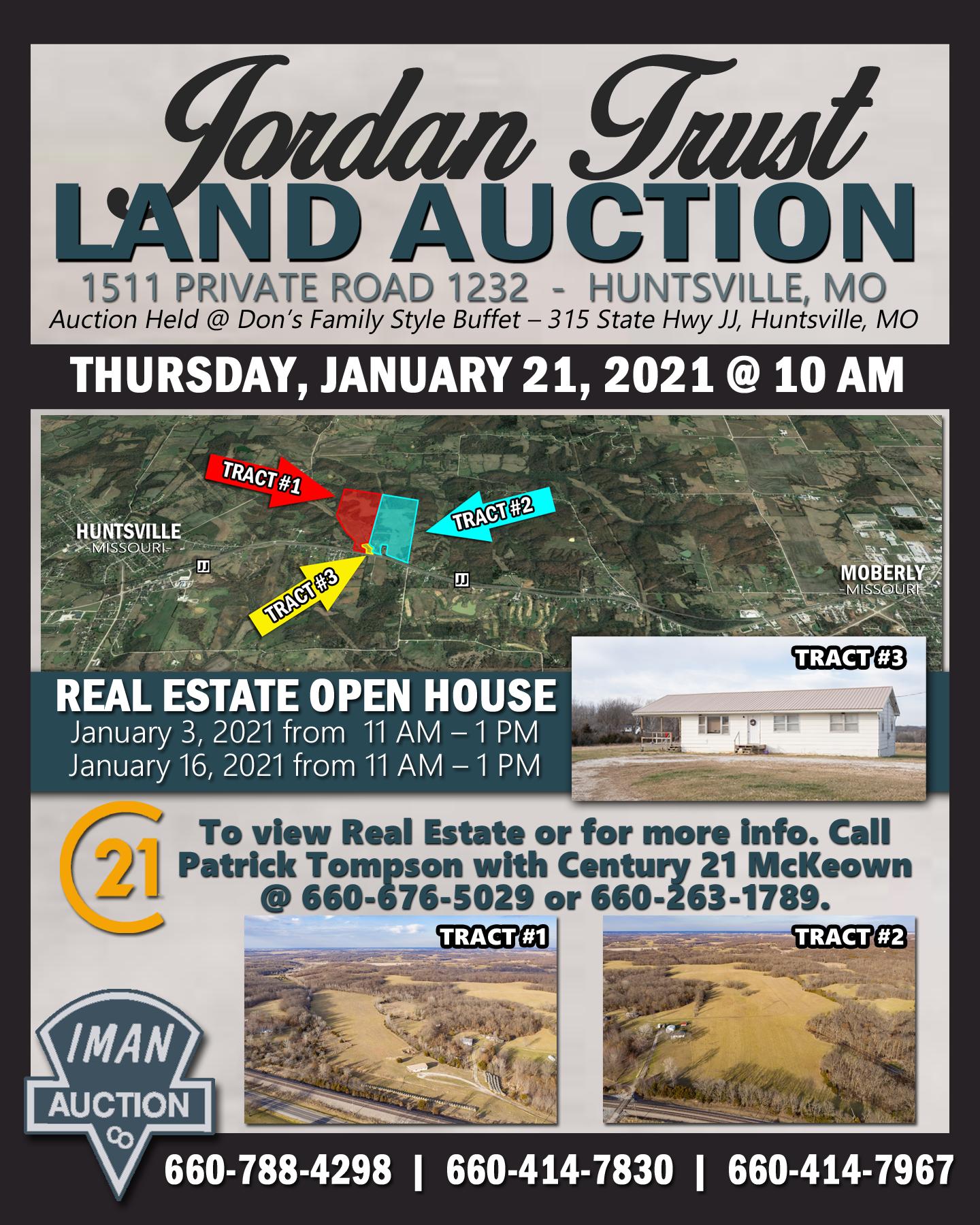 JORDAN TRUST LAND AUCTION