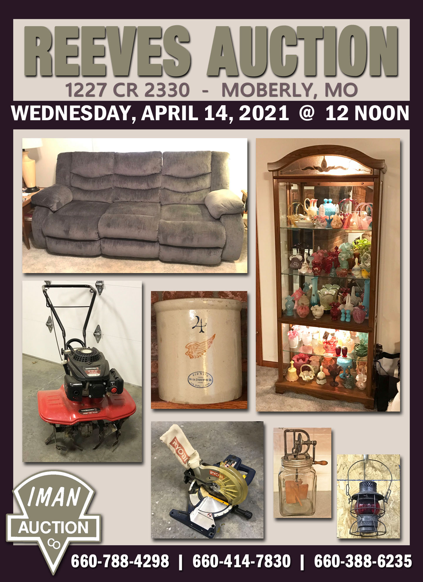 REEVES AUCTION
