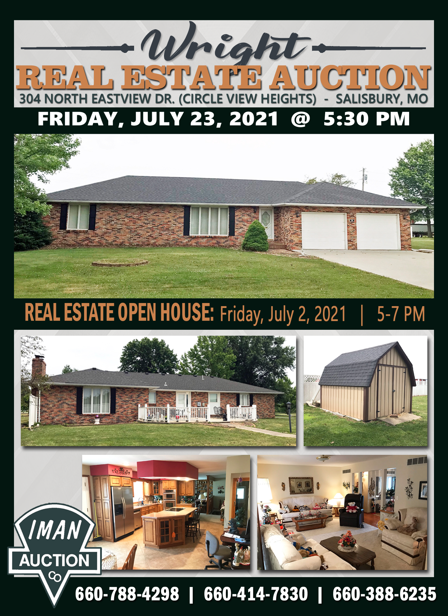 WRIGHT REAL ESTATE AUCTION