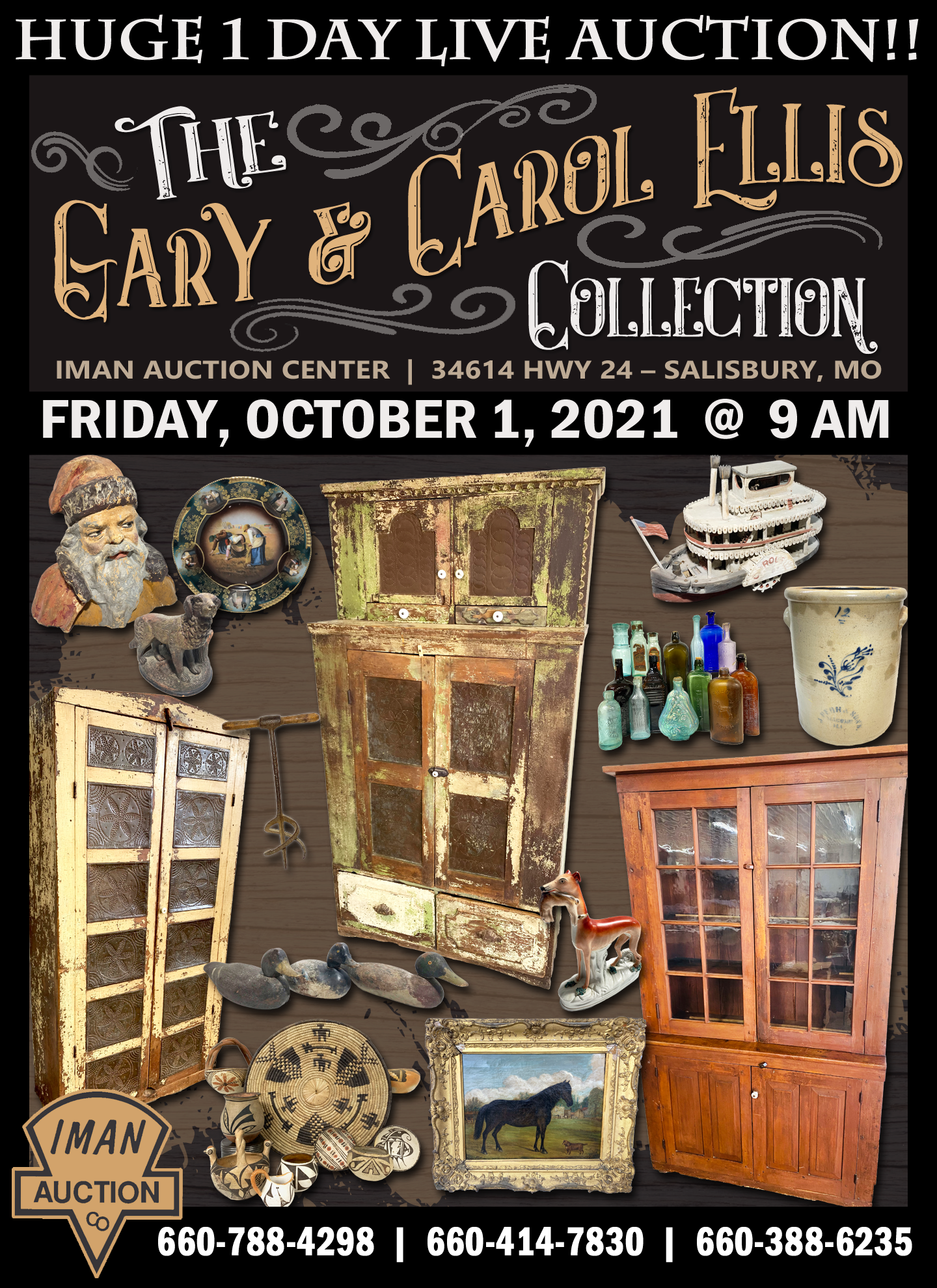 THE GARY AND CAROL ELLIS COLLECTION