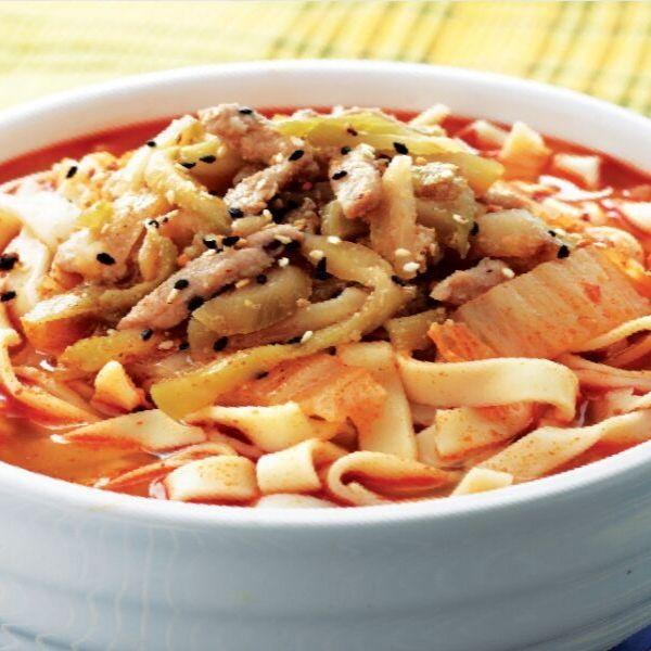 Sichuan Piquant Pan Mee (Soup)