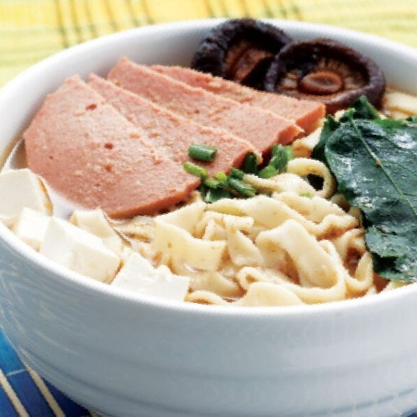 Vegetarian Pan Mee (Soup)