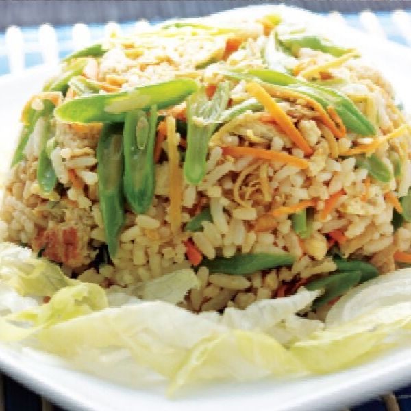 Ginger Egg Fried Rice