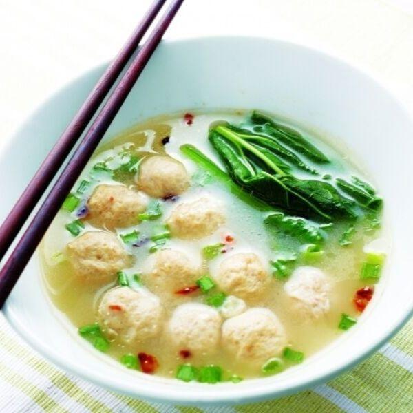 Meat Balls Soup