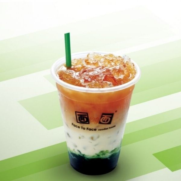 Emerald 3 Layer Milk Tea