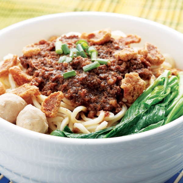 Creations Minced Pork Pan Mee (Dry)