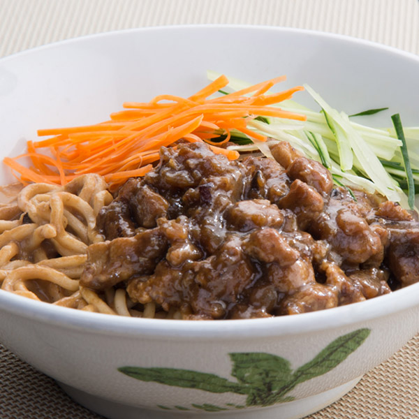 Pan Mee with Sesame Sauce (Dry)