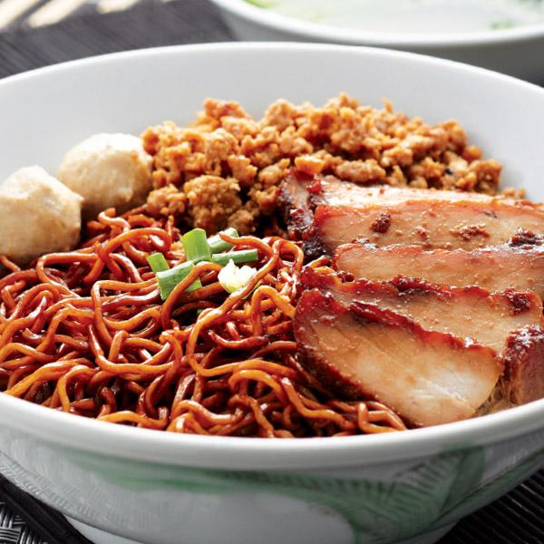 Dark Soy Sauce Sarawak Noodles
