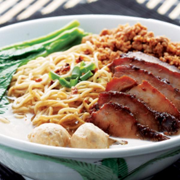 Traditional Sarawak Noodles (Soup)