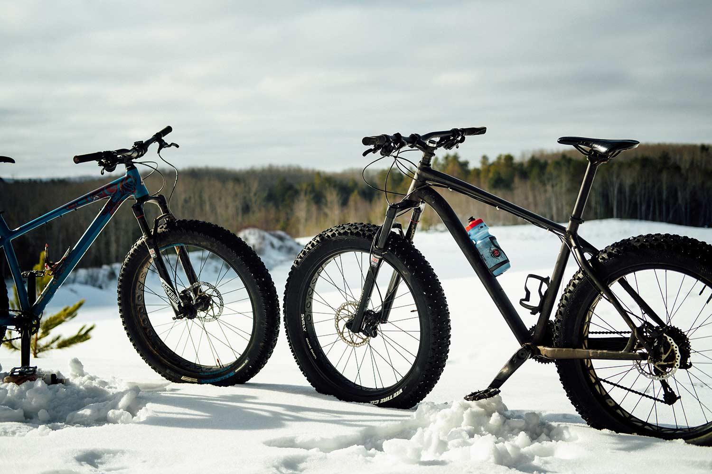 Sortie en fat bike