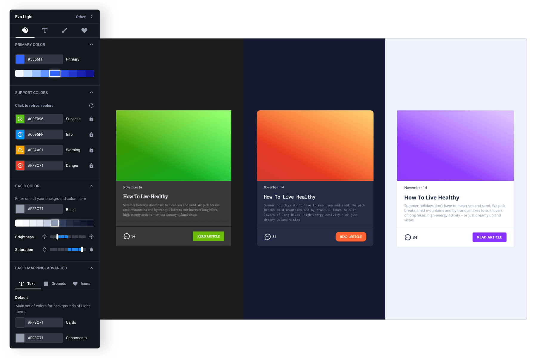 Free UI mockup tool to creat and design your own app without coding