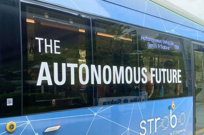 Behind Singapore's first commercial AV/EV bus trial