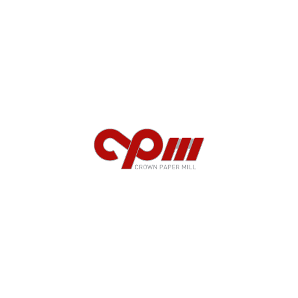 Logo of  crown paper mill