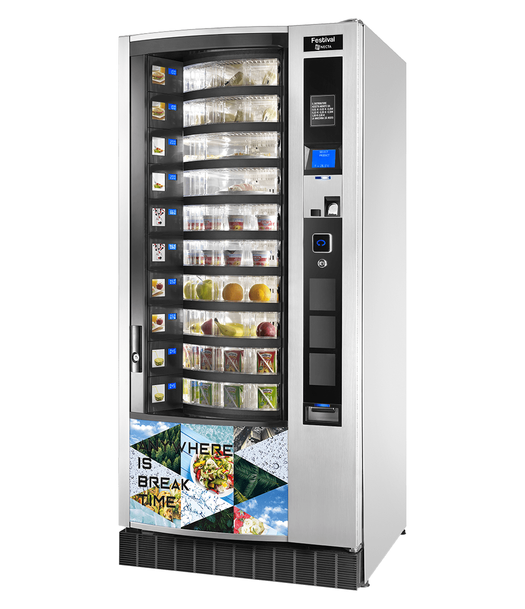 Festival - Snack, Food, Cans and Bottle Vending Machine