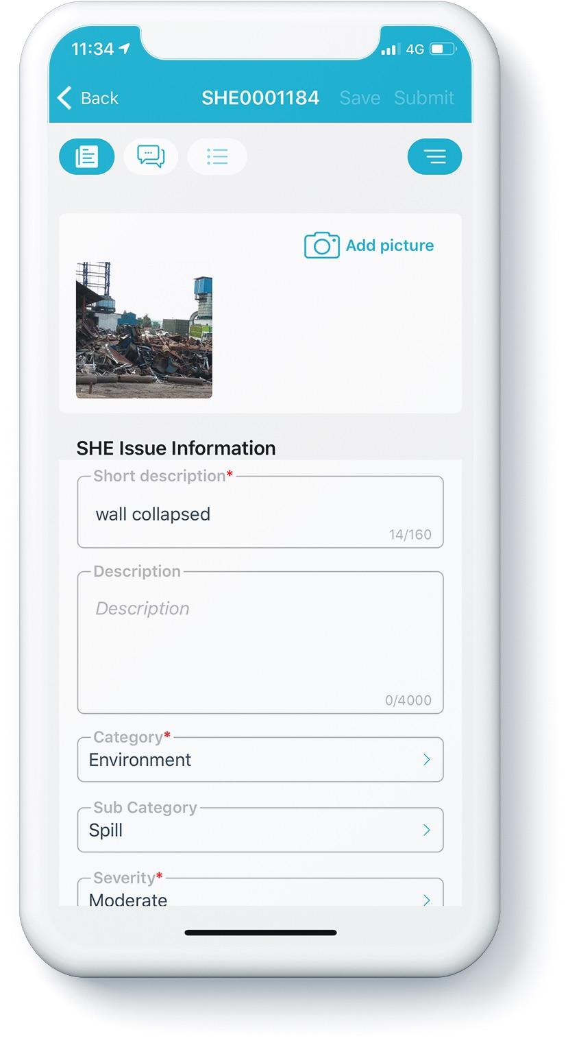 Issue management app