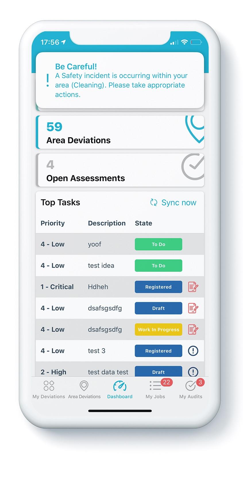 4Industry Risk management app