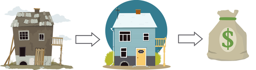 Flipping Houses Infographic