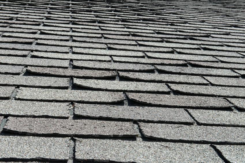 Roof Shingle Curling