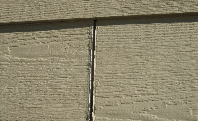 Siding Missed Caulking