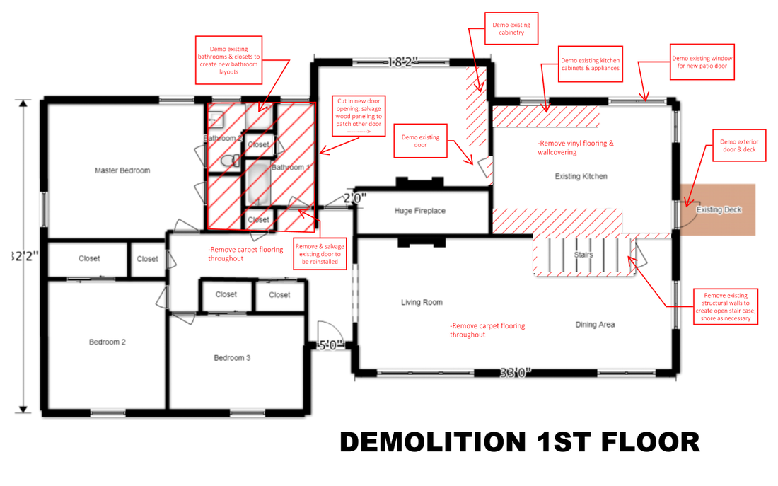 House Flip Demolition Plan Example