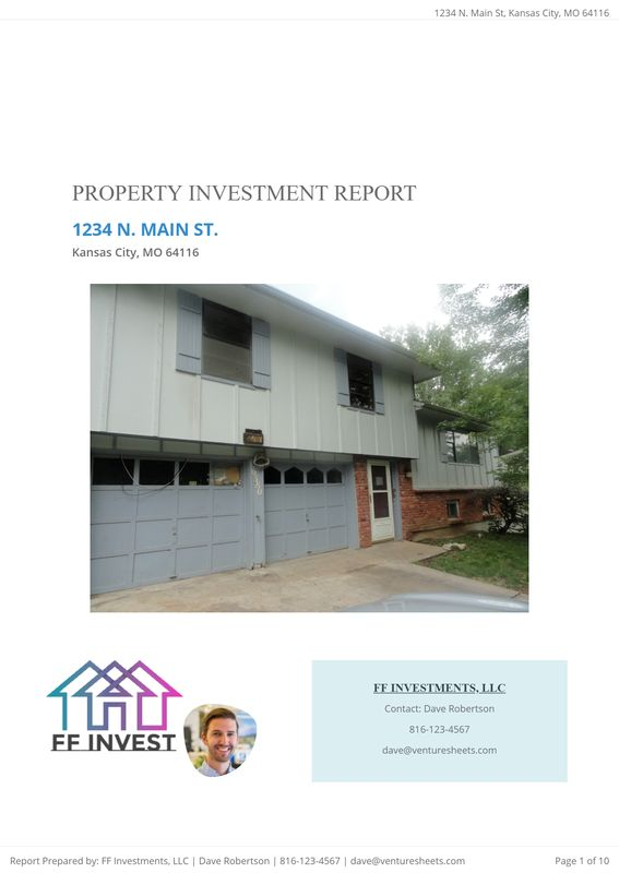 Rehab Investment Report