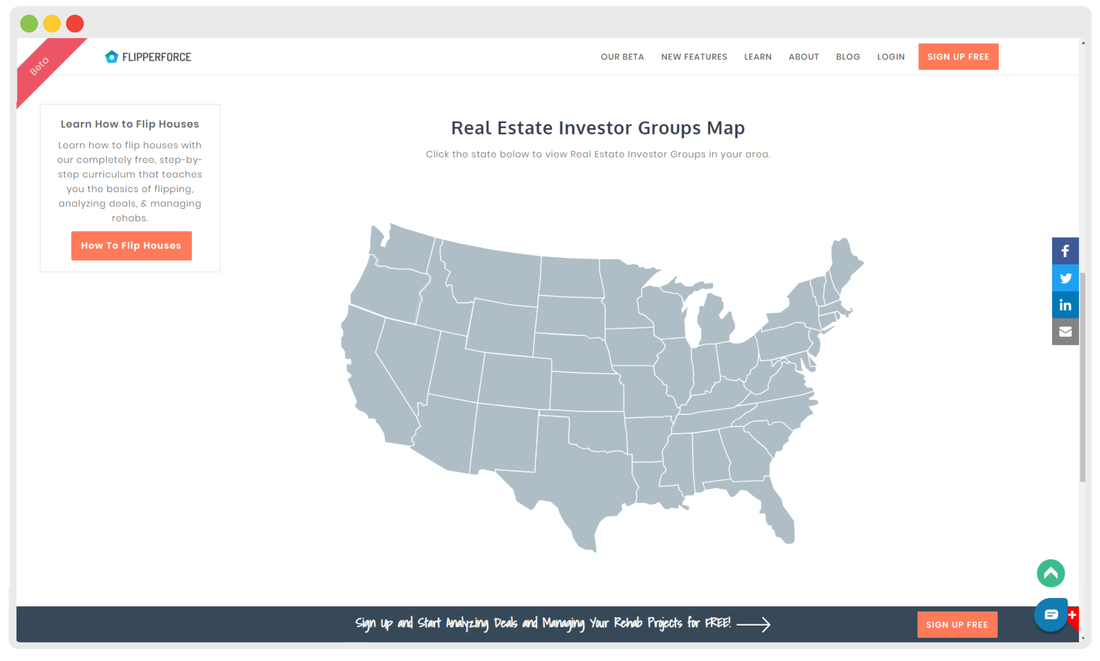 Real Estate Investor Group Directory