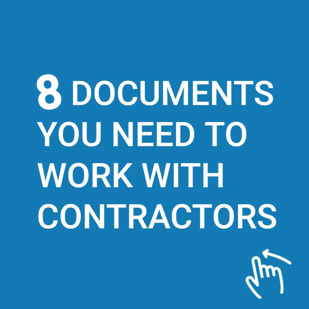 Documents You Need to Work with Contractors