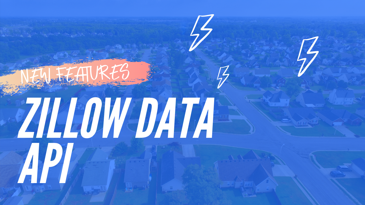 ⚡ New Zillow Data Api