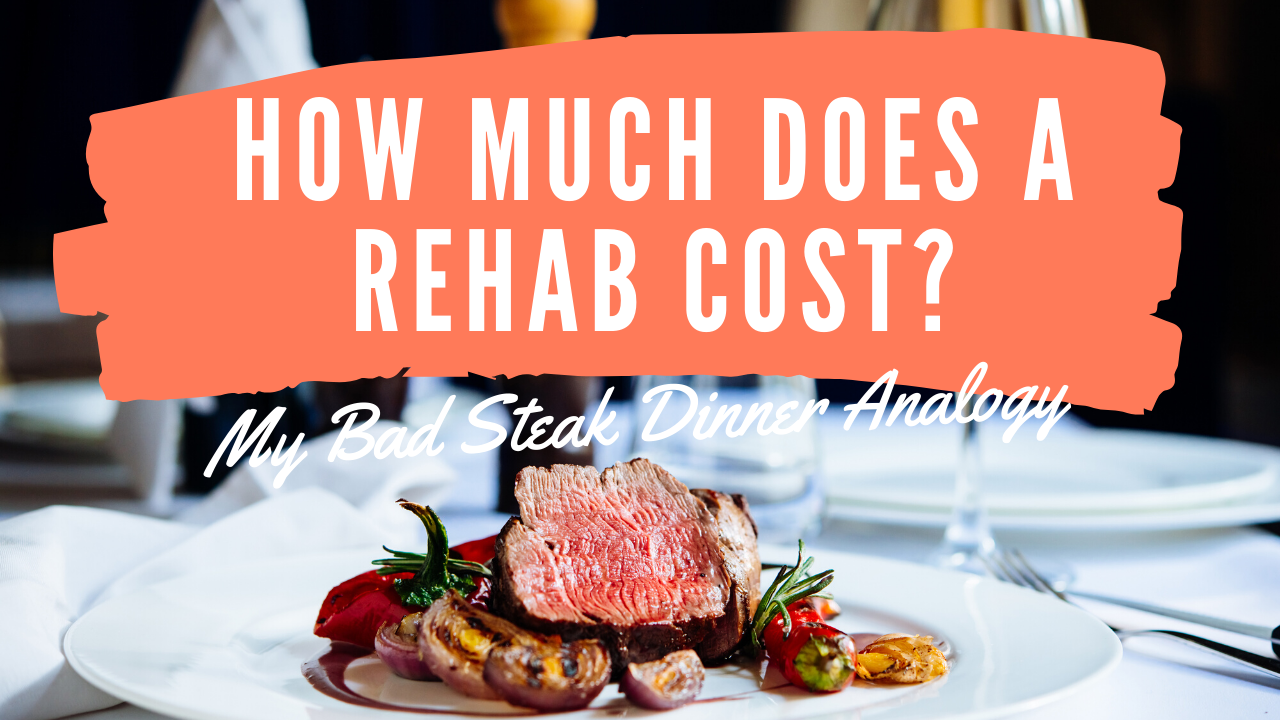 How Much Does a Rehab Cost?  My Bad Analogy