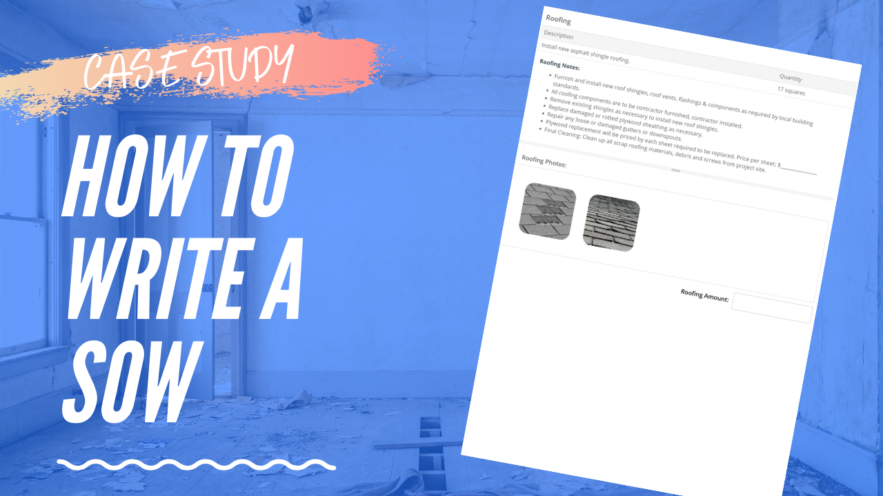 How to Create an Estimate & Sow in Minutes Using Templates