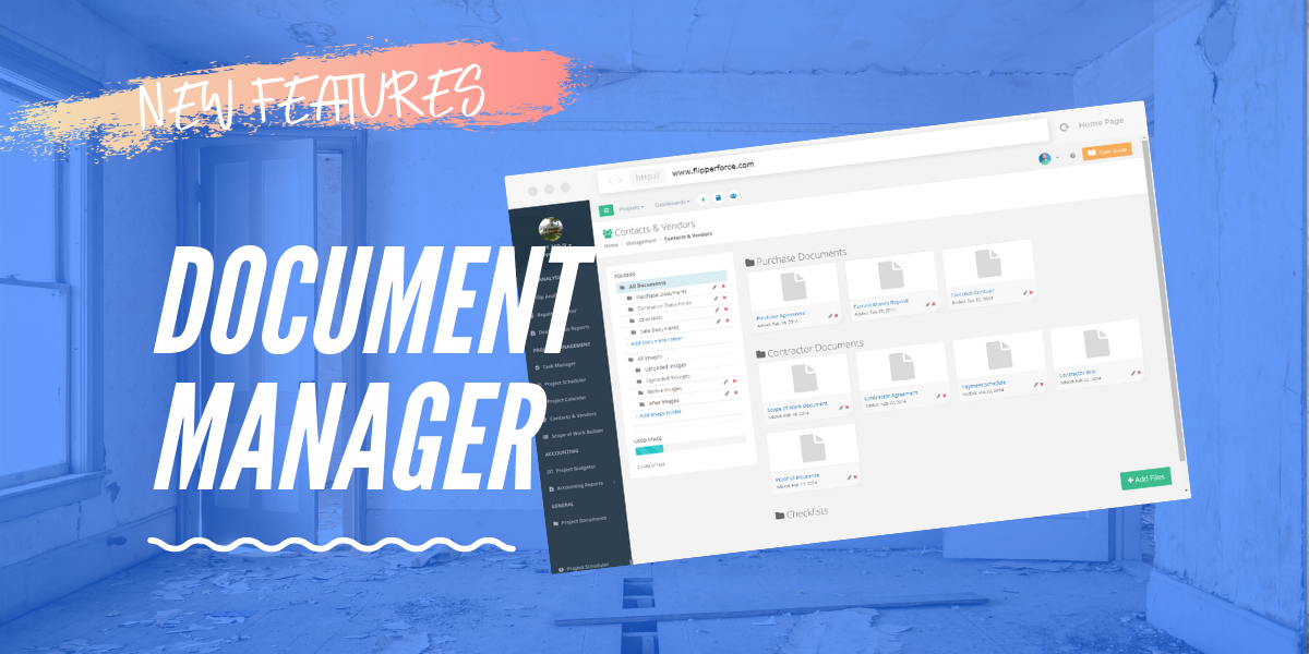 New Multi-Upload Drag-and-Drop Document Manager