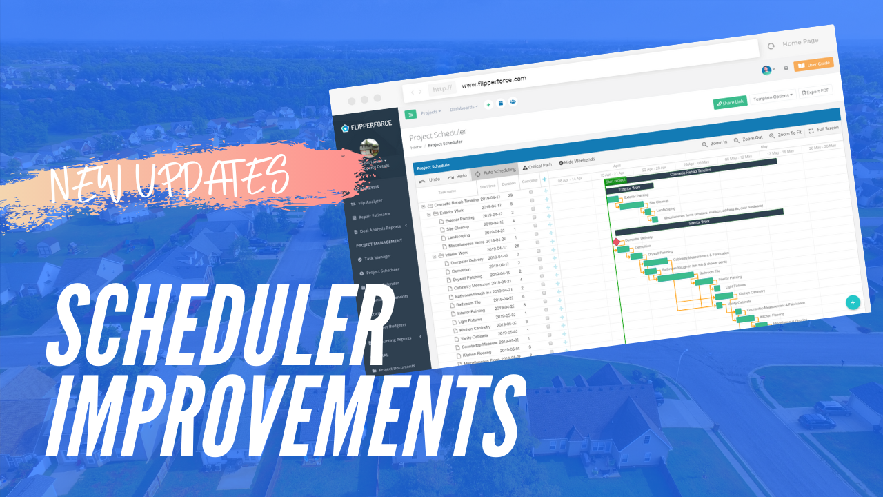 New Scheduler Improvements