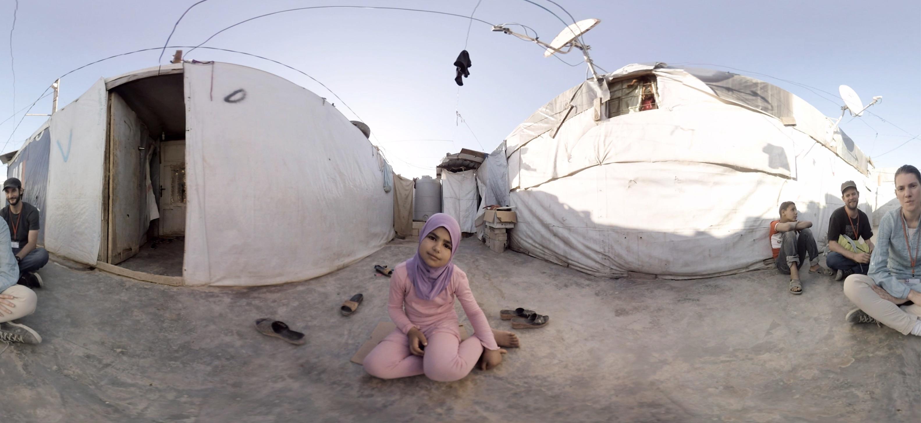 Mit der Wiener Zeitung, Caritas Austria & T-Mobile hat vrisch eine 360º VR-Videodokumentation gedreht, um die Diskussion über das Thema Flucht anzuregen.