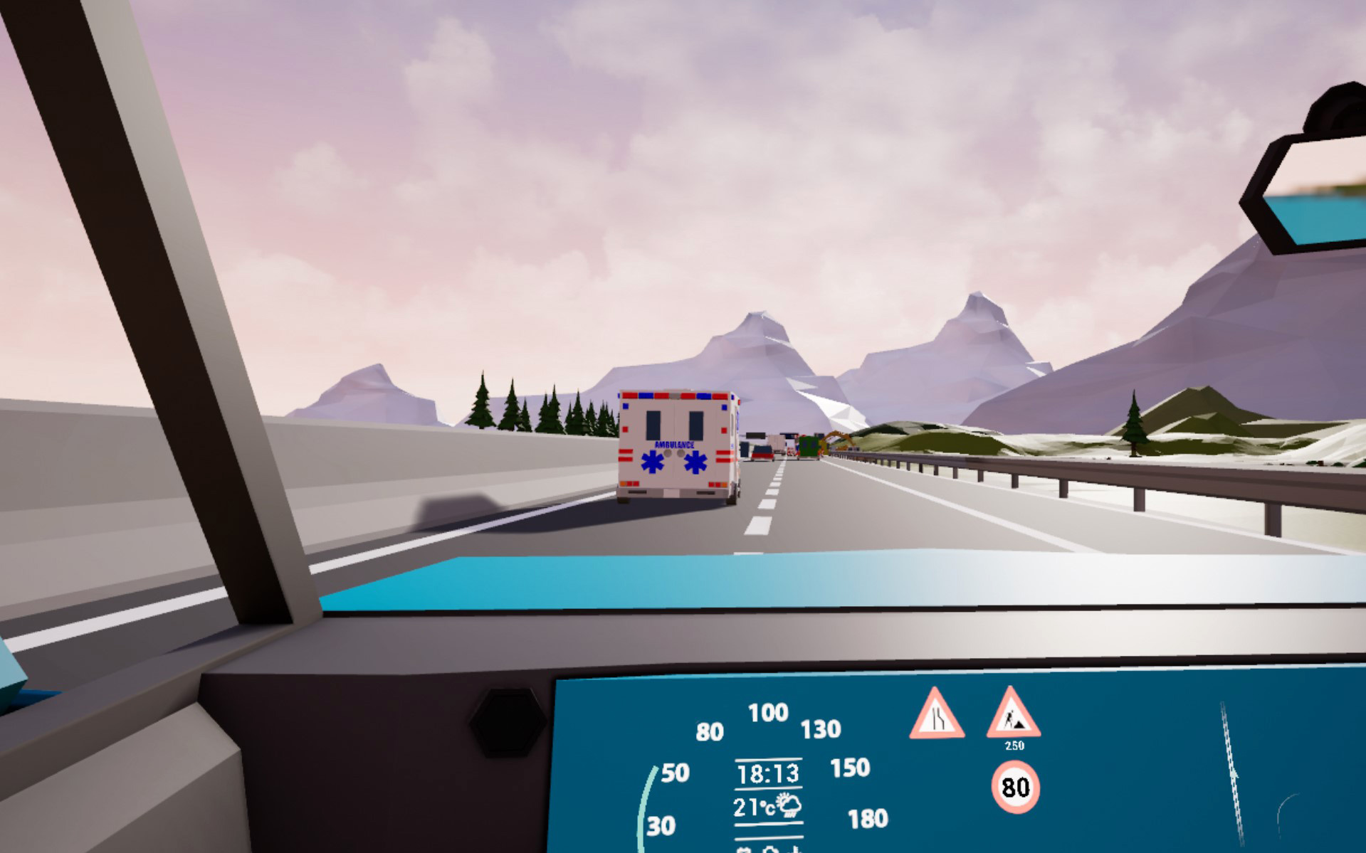 C-ITS VR driver demonstrator level
