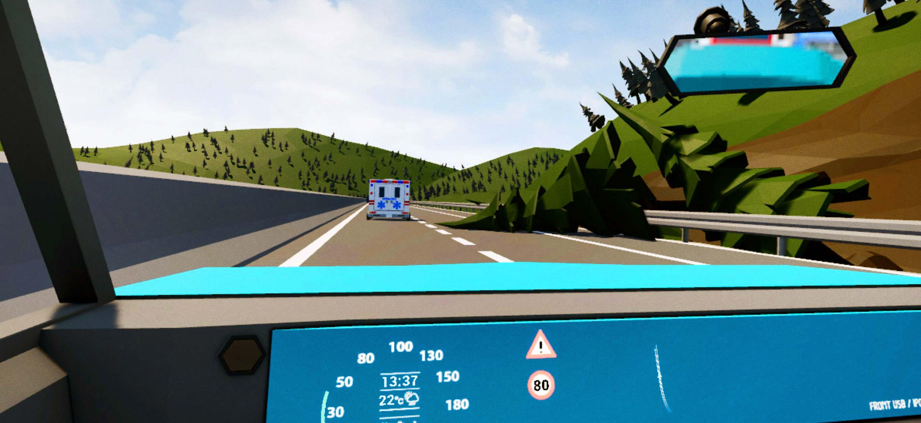 C-ITS VR Driver