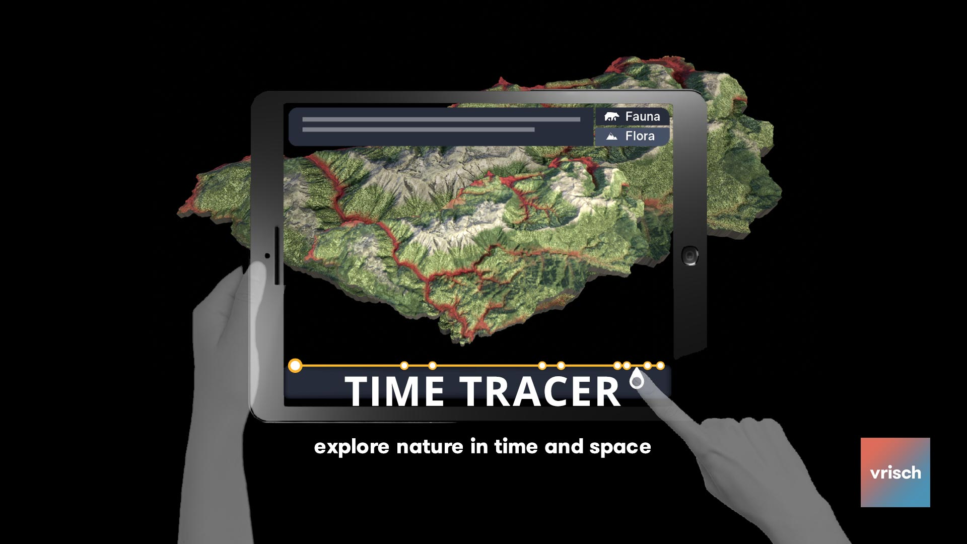 Time Tracer AR Nature Education