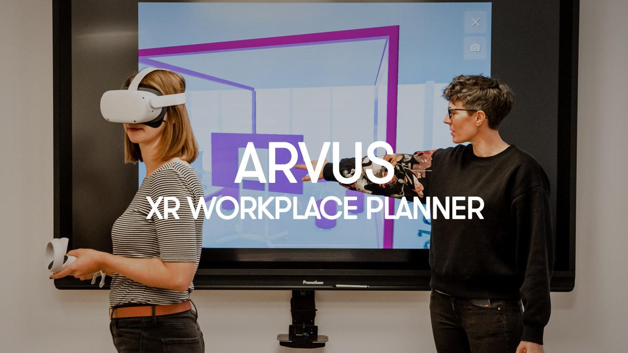 ARVUS XR office design planner
