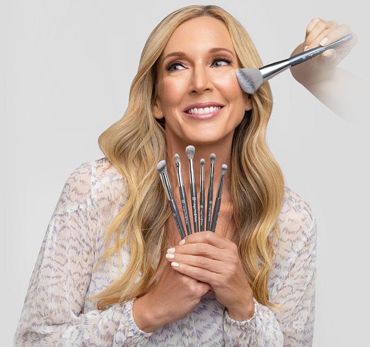 Angie Hot & Flashy brush set