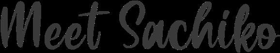 Meet Sachiko Weir